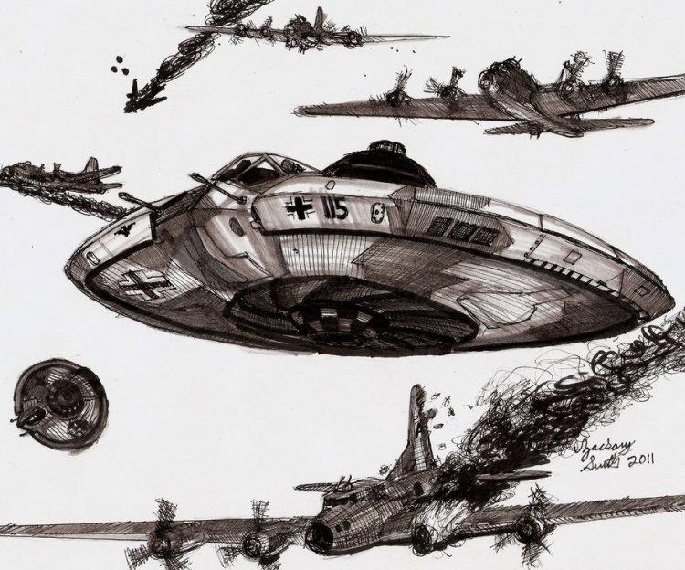 二战后期纳粹德国飞碟直接参战 美军方爆料76 / 作者:伤我心太深 / 帖子ID:22632