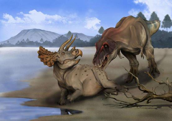 以恐龙为食的史前霸主,体型长达12米重7吨,有上百颗锋利牙齿